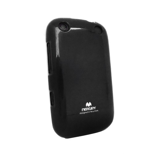 Wellcomm Case Armstrong Mercury Jelly for BlackBerry 9320 - Black