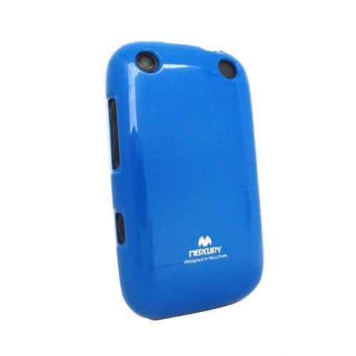 Wellcomm Case Armstrong Mercury Jelly for BlackBerry 9320 - Blue