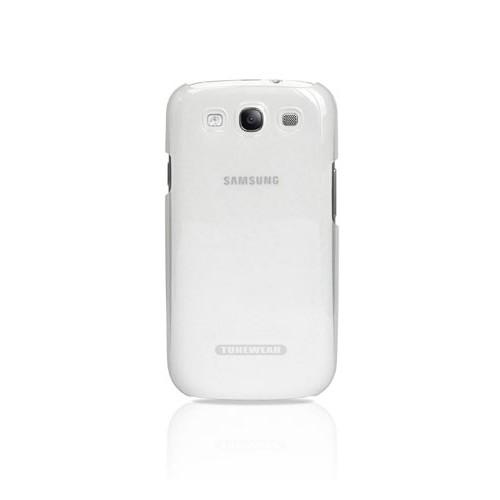Tunewear Eggshell for Samsung Galaxy S3 - Clear White