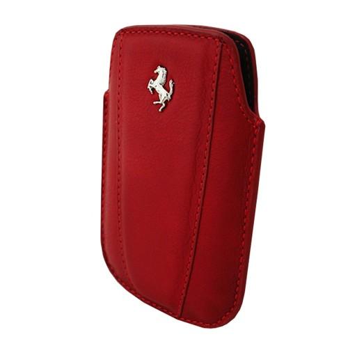 Ferrari Leather Sleeve Modena for BlackBerry - Red