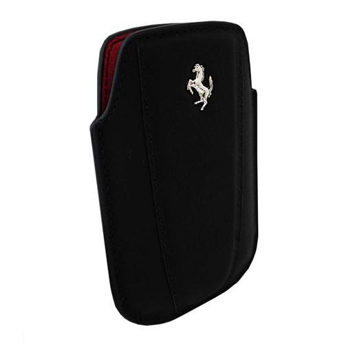 Ferrari Leather Sleeve Modena for BlackBerry - Black