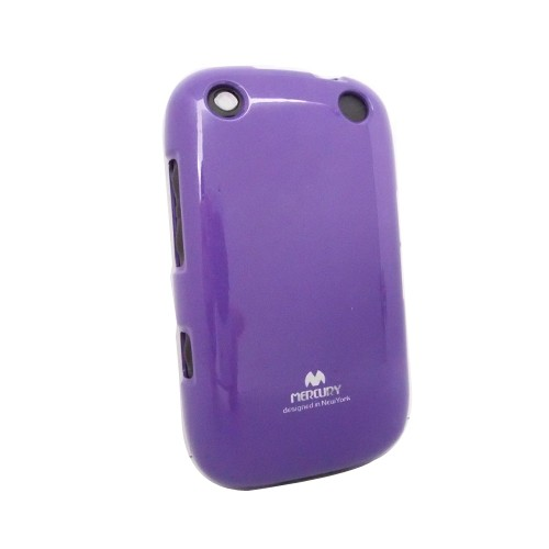 Wellcomm Case Armstrong Mercury Jelly for BlackBerry 9320 - Purple