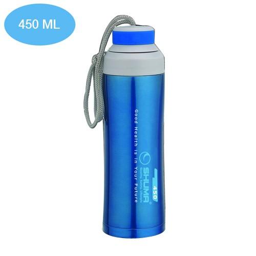 Botol Minum Shuma Vacuum Sport 450 ml - Blue