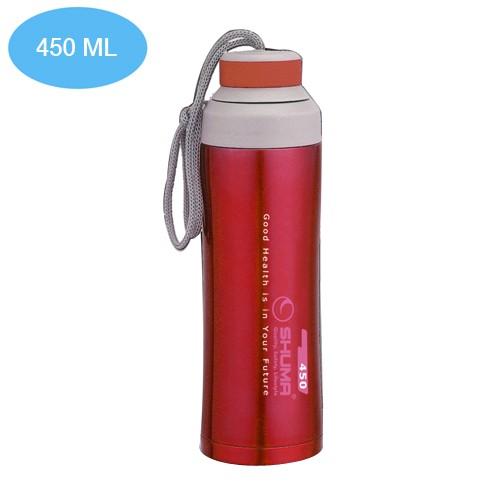 Botol Minum Shuma Vacuum Sport 450 ml - Red