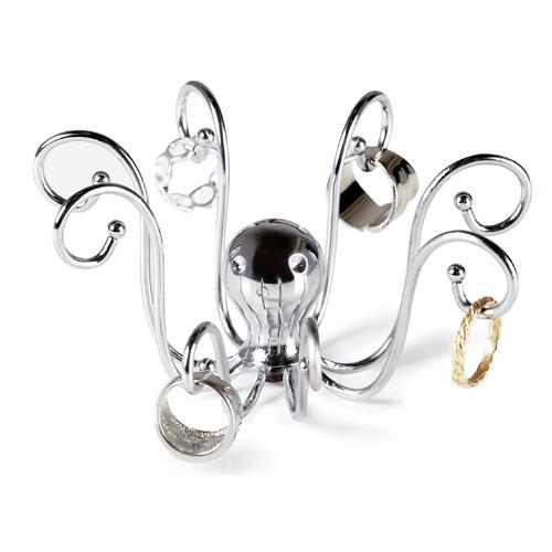 Umbra Ring Holder Chrome - Octopus