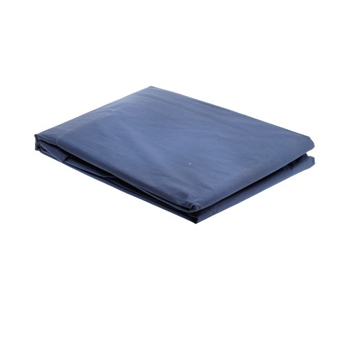 Bloomingdale Sprei Cotton Polos Single Fitted - Blue