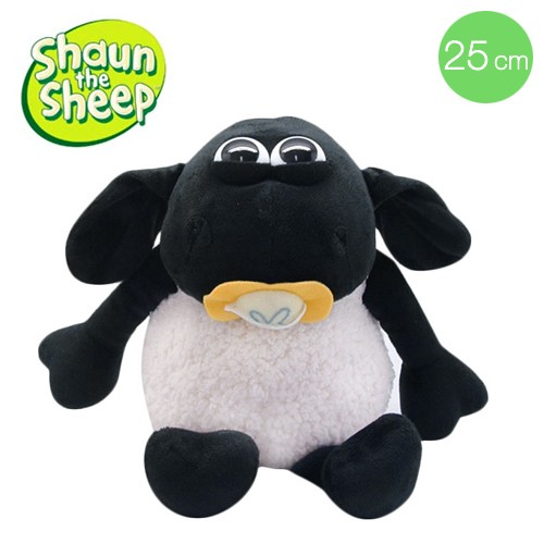 Boneka Shaun The Sheep Timmy With Dummy (25 cm)