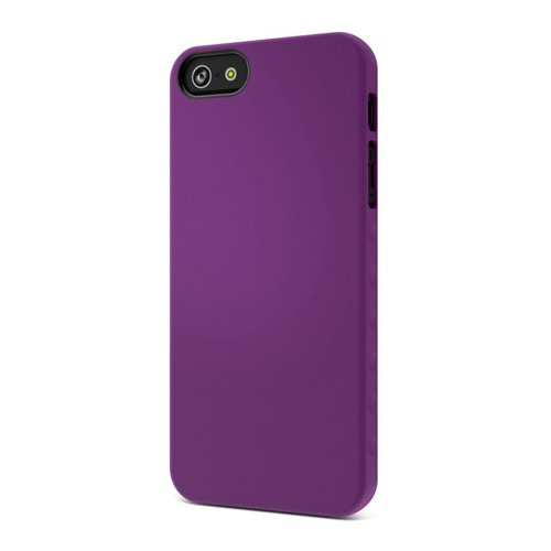 Cygnett Case AeroGrip Feel for iPhone 5 - Purple