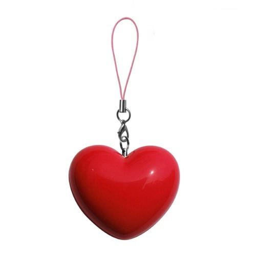 Zumreed Portable Speaker Heart - Red