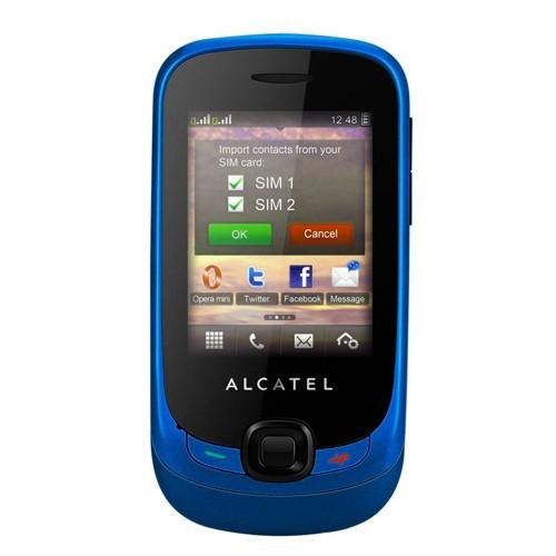 Alcatel OT-602D (Dual SIM) - Cyber Blue
