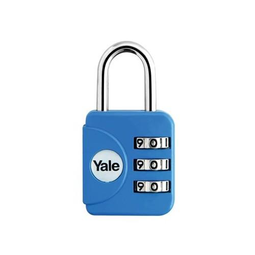 Yale Gembok Travel Lock YP1/28/121/1 - Blue