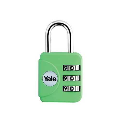 Yale Gembok Travel Lock YP1/28/121/1 - Emerald