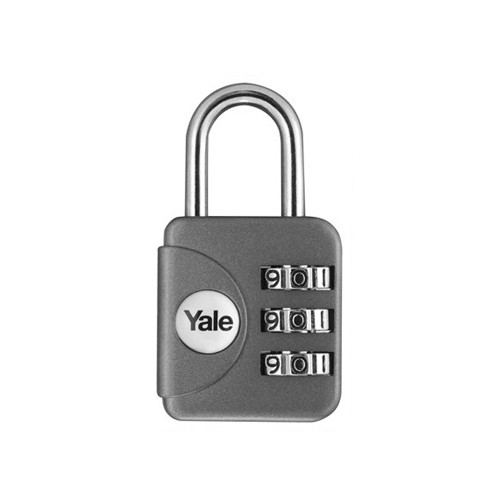 Yale Gembok Travel Lock YP1/28/121/1 - Grey