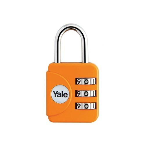 Yale Gembok Travel Lock YP1/28/121/1 - Orange