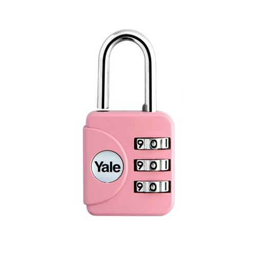 Yale Gembok Travel Lock YP1/28/121/1 - Pink