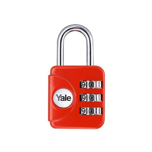 Yale Gembok Travel Lock YP1/28/121/1 - Red