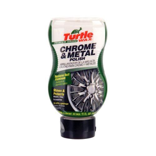 Turtle Wax Premium Grade Liquid Chrome & Metal Polish 325 ml