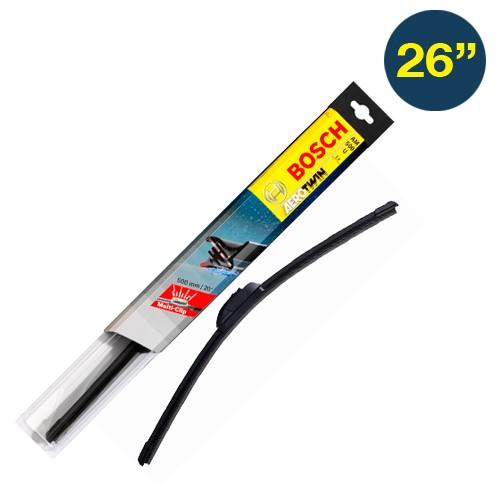 Bosch Wiper AEROTWIN Frameless Blades - 26 Inch