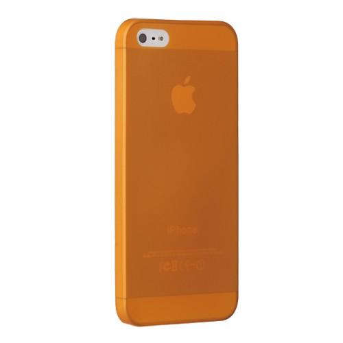 Ozaki O!coat Jelly Case 0.3 mm for iPhone 5 - Orange