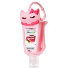 Pocketbac Holder Pink Cat