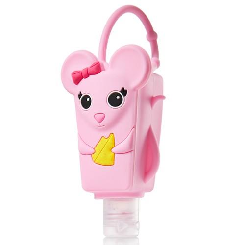 Pocketbac Holder Pink Mouse