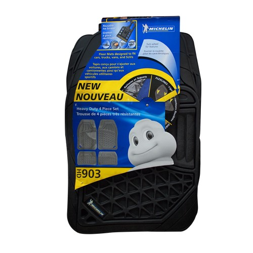 Karpet Mobil Michelin Rubber with Flexilines 903-16 - Black