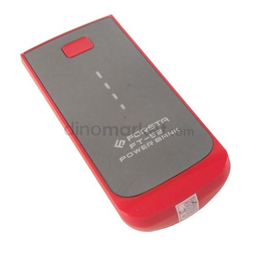 Power Bank Forsta FT-52 5200 mAh - Red