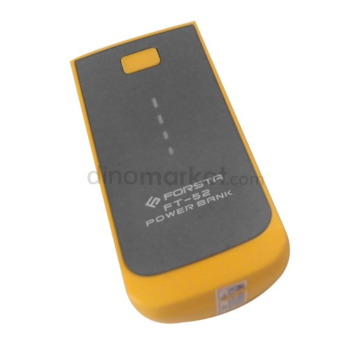 Power Bank Forsta FT-52 5200 mAh - Yellow