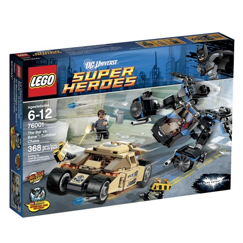 Lego Super Heroes The Bat vs. Bane Tumbler Chase 76001