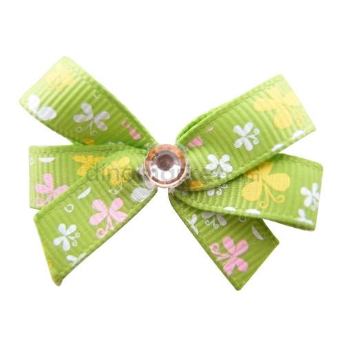 Callista Jepit Rambut - Green Butterfly
