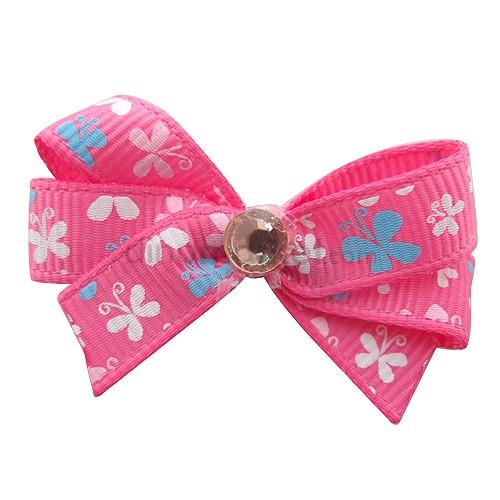 Callista Jepit Rambut - Pink Butterfly