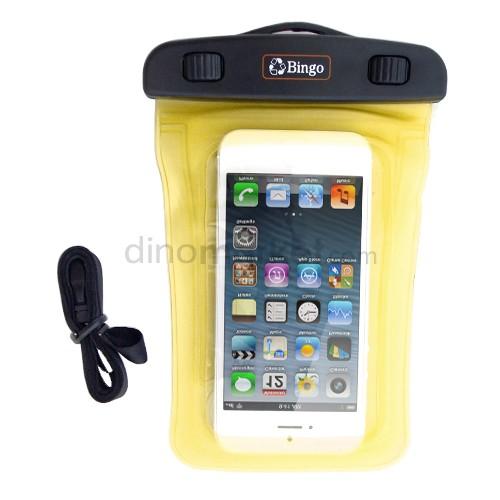 Bingo Sarung HP Anti Air Clipper Lock IP01 (iPhone 5) - Yellow