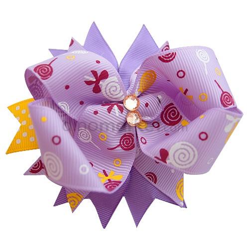 Callista Jepit Rambut - Purple Love