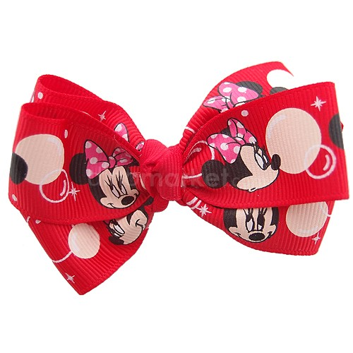 Callista Jepit Rambut - Red Little Minnie Mouse