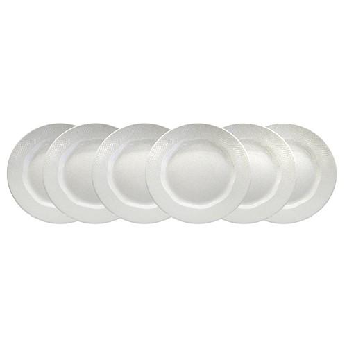 Royal Doulton Set Piring Saji Arena White Series - (12 pcs)