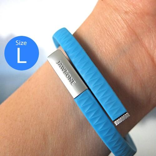 Jawbone Up Gelang Kesehatan (Size L) - Blue
