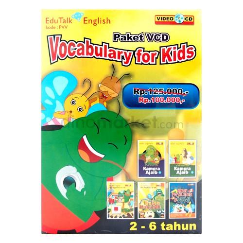 VCD Edukasi Edutalk - Vocabulary for Kids