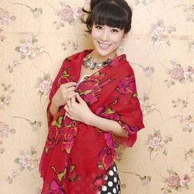 Scarf / Syal Fashion Pink R