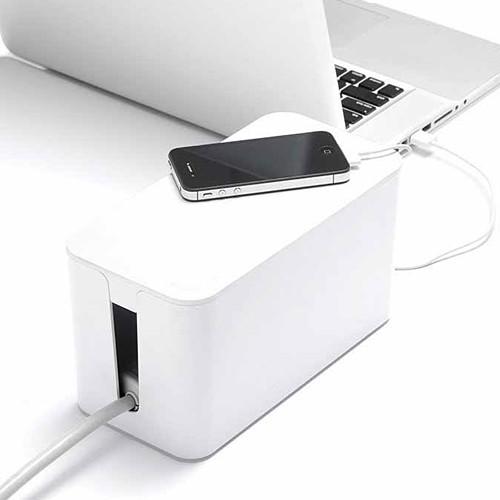 Mini Cable Box - White