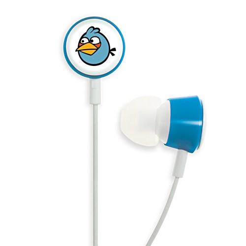 Gear4 In-ear Headphone Tweeters Angry Birds - Blue