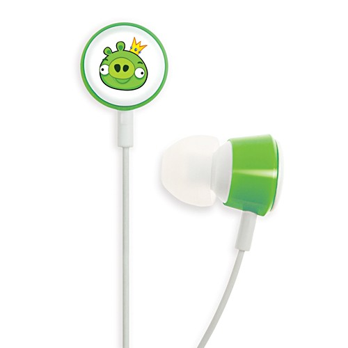 Gear4 In-ear Headphone Tweeters Angry Birds - Green