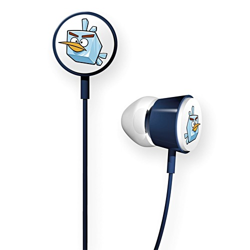 Gear4 In-ear Headphone Tweeters Angry Birds - Ice Space Bird