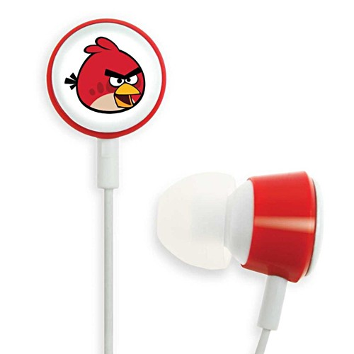Gear4 In-ear Headphone Tweeters Angry Birds - Red