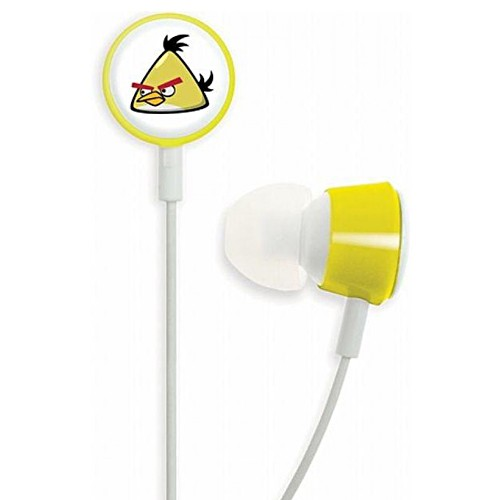 Gear4 In-ear Headphone Tweeters Angry Birds - Yellow
