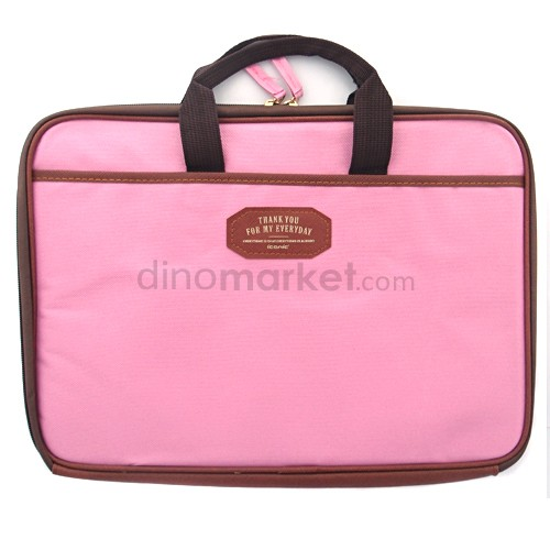 Tas Laptop Korean Style - Pink