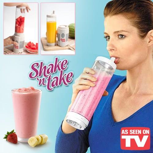 Botol Blender Portabel Shake N Take