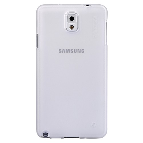 Capdase Case Soft Jacket Xpose Samsung Galaxy Note 3 - Tint White