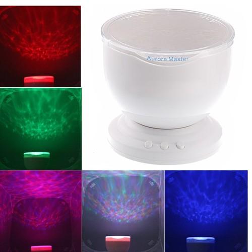 Lampu Proyektor dan Speaker Aurora Master