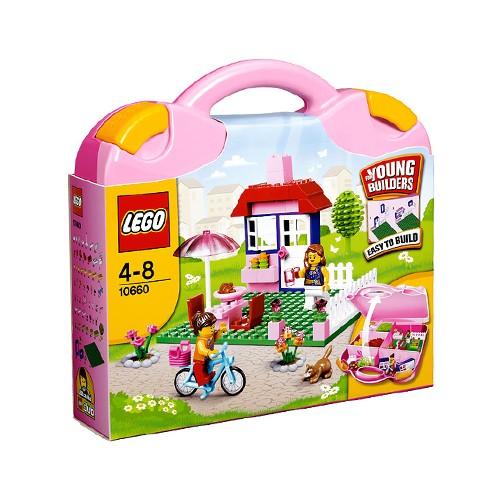 Lego Pink Suitcase 10660