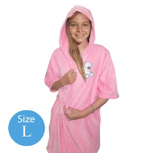 Handuk Baju Anak Pink L